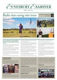 Radio stars swing into town - Eynesbury