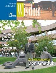 Don Gnatiuk - Grande Prairie Regional College
