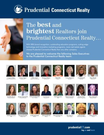 The best and - Prudential Connecticut Realty