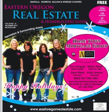 Eastern Oregon Real Estate & Home Builders Guide - Mountain News