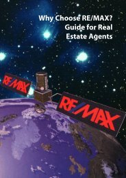 Why Choose RE/MAX? Guide for Real Estate ... - RE/MAX Midlands