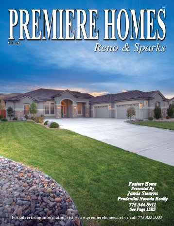 Reno & Sparks - Premiere Homes Real Estate Magazine of Lake ...