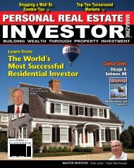 How To Be A Successful Real Estate Investor - Bill Duffey