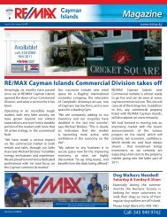 Magazine issue 14 (8th July 2011) - RE/MAX Cayman Islands