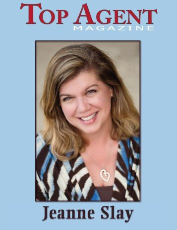 Jeanne Slay - Top Agent Magazine