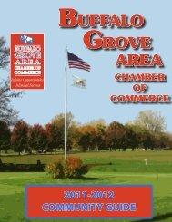 2011-12 Buffalo Grove Community Guide - Communities