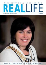 NEW IAVI PRESIDENT RAISES CONCERNS - Real Estate Alliance