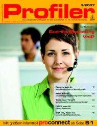 Guerilla-Marketing VoIP - Profiler24