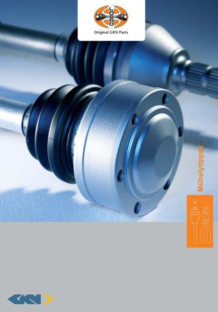 workshop brochure_hu_loebro.indd - GKN Aftermarkets & Services