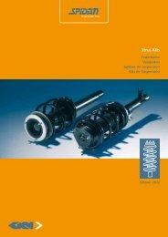 Strut Kits Catalogue - GKN Aftermarkets & Services