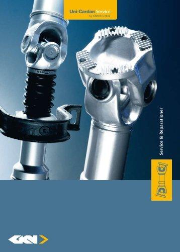 Service & Reparationer - GKN Aftermarkets & Services