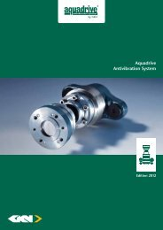 Aquadrive Antivibration System - GKN Aftermarkets & Services