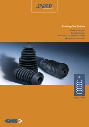 Steering Gear Bellows - GKN Aftermarkets & Services