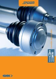 workshop brochure_es_spidan.qxp - GKN Aftermarkets & Services