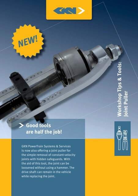 Joint Puller_GB.indd - GKN Aftermarkets & Services