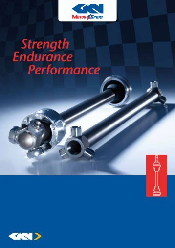 Endurance Performance Strength - GKN Aftermarkets & Services
