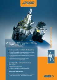 Elektrisk servo styring - GKN Aftermarkets & Services