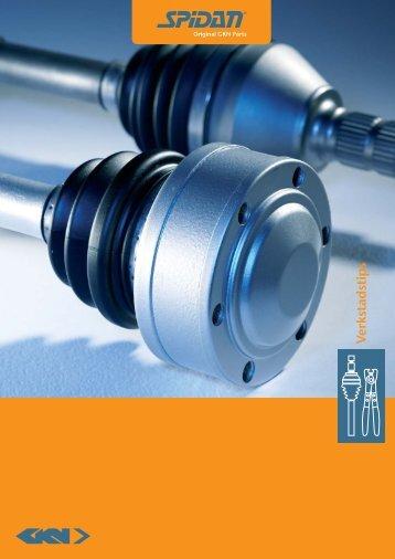 workshop brochure se spidan - GKN Aftermarkets & Services