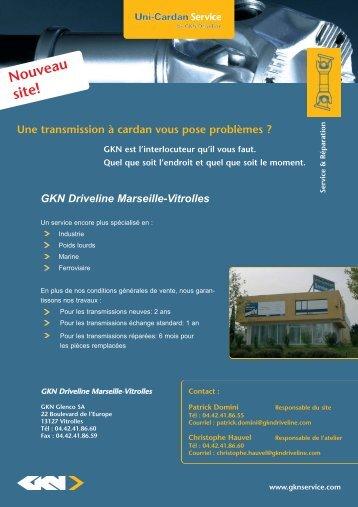 Nouveau site! - GKN Aftermarkets & Services