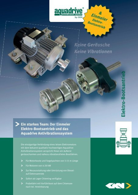 Aquadrive E-Antrieb_DE.indd - GKN Aftermarkets & Services