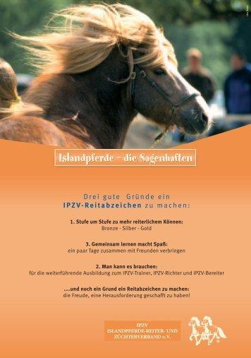 Islandpferde – die Sagenhaften - IPZV