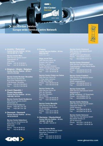 Service-Repair_Adressen gesamt.indd - GKN Aftermarkets & Services