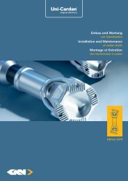 Installation and Maintenance - GKN Aftermarkets & Services