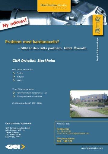 Ny adress! - GKN Aftermarkets & Services