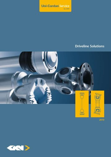Driveline Solutions - GKN Aftermarkets & Services