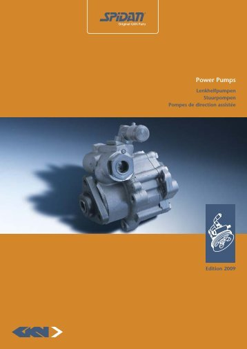 Power Pumps - GKN Aftermarkets & Services