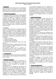 conditions generales d'achat gkn service france - GKN Aftermarkets ...