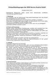 Einkaufsbedingungen der GKN Service Austria GmbH