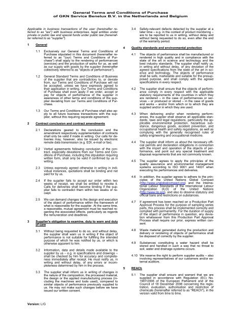 General Terms and Conditions of Purchase - GKN Aftermarkets ...