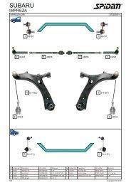 Spidan 10 2012 Steering Parts