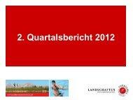 2. Quartalsbericht 2012 - Oberösterreich Tourismus