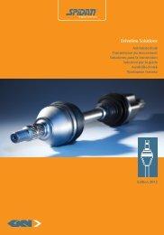 Car Manufacturer – Models / Fahrzeughersteller - GKN Aftermarkets ...