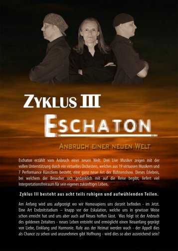 Flyer IN-TOUCH & VO - Zyklus 3 (A5 - kunst4life