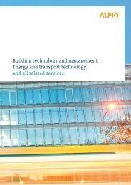 brochure PDF (2.5 MB) - Alpiq Intec Schweiz