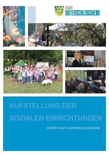 aufstellung der sozialen einrichtungen - Stadt Unterschleißheim