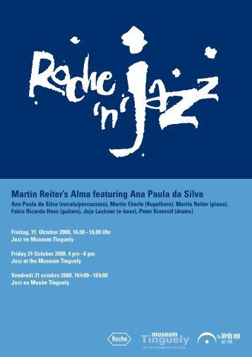Martin Reiter's Alma featuring Ana Paula da Silva - The Bird's Eye