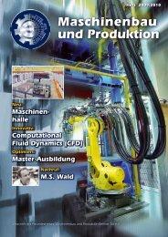 Maschinenbau und Produktion - Department Maschinenbau und ...