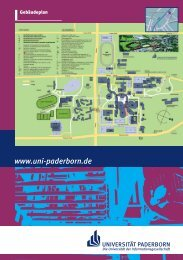 Maschinenbau - Fachgruppe Angewandte Mechanik - Universität ...
