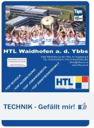 TECHNIK - Gefällt mir! - HTL Waidhofen / Ybbs