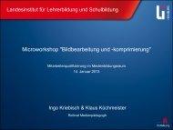 protokoll - Landesinstitut für Lehrerbildung und Schulentwicklung ...