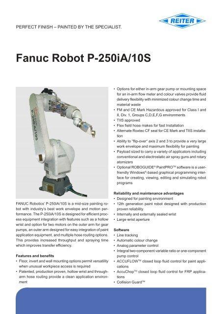 Fanuc Robot P-250iA/10S - reiter-oft de