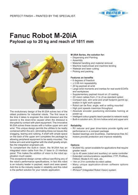 FANUC Robot M-20iA (pdf) - reiter-oft de