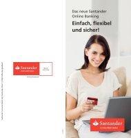 Einfach, flexibel und sicher! - Santander Consumer Bank