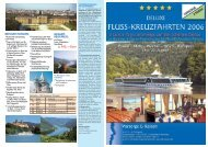 Weitere Infos - KIB-Reisen