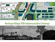 Heritage Village TOD Implementation Strategy - City of Longwood