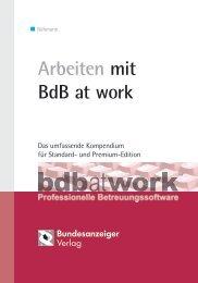 Arbeiten mit BdB at work - Betreuung.de